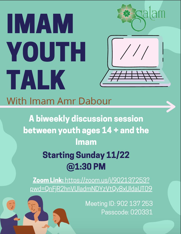 Imam Amr Dabour Youth Talk