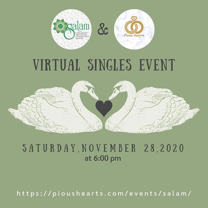 Virtual Singles Event