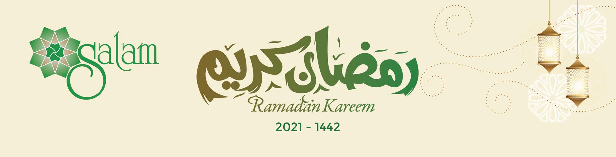 Ramadan Mubarak from SALAM Islamic Center - 2021 - 1442