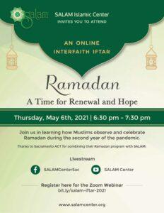 SALAM Interfaith Iftar 2021